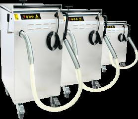 Maquinaria para hostelería Vito, filtración de aceite